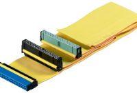 fantastische wentronic hdd ide kabel fur ultra ata festplatten bis 133 mbps 06m gelb foto