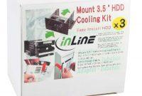 am besten inline 33343s hdd adapter fur 3x hdd2x 133 cm 52 zoll slot mit 80mm lufter silber foto