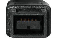 fantastische hama firewire kabel ieee1394b stecker 9 pol stecker 9 pol 2m foto