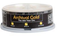 ausgezeichnete delkin europe 25 cd r archival gold digital foto speicher in einem schutzenden tower bild