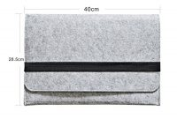 erstaunliche iprotect schutzhulle macbook pro 15 zoll filz sleeve hulle laptop tasche grau foto