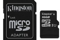 fabelhafte original kingston microsd speicherkarte 16gb fur aldi lg joy y30 h220 foto