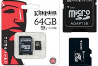 fantastische original kingston microsd speicherkarte 64gb tablet fur lenovo tab 2 a7 30 64 gb bild