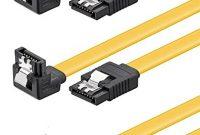 grossen baytronic sata kabel set 3x 05m mit verriegelung gewinkelt bild