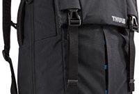 grossen thule paramount flapover 29 liter daypack fur 15 notebook tablet schwarz foto