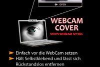 wunderbare webcam abdeckung schwarz der sichere schutz vor internet spionage bild
