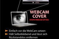 ausgezeichnete webcam abdeckung silber der sichere schutz vor internet spionage bild