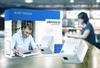 awesome devolo dlan hotspot powerline starter kit bild