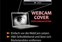 cool webcam abdeckung weiss der sichere schutz vor internet spionage bild
