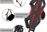 schone vogek fahrrad handyhalter universal silikon handyhalterung fahrrad motorradhalter fahrradlenker handy halterung fur iphonesamsungblackberryhtcgps gps oder gerate mit 4 6 zoll bilds foto