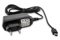 fantastische caseroxx handy ladekabel mini usb kabel fur garmin drive 50 lmt hochwertiges ladegerat mit netzteil zum aufladen flexibles stabiles kabel in schwarz foto