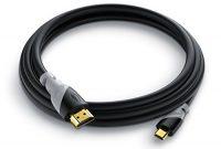 grossen csl 15m micro hdmi kabel 20 14a ultra hd full hd hd ready 3d ethernet 1080p 2160p 4k modell 2016 3 fach geschirmt schwarz 15m meter foto