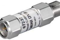fabelhafte wentronic mini koaxial kabelverstarker 18db dvb tsat f stecker auf f kupplung bild