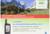 ausgefallene garmin freizeit und wanderkarte fur gps gerate alpenvereinskarten 2013 microsdsd 010 11737 01 bild