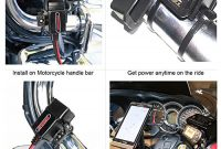 ausgefallene motopower mp0609 motorrad usb port sae zu usb adapter foto