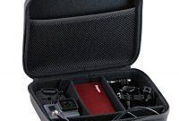 erstaunliche navitech schwarz tragetasche fur eken h9r 4k action camera full hd wifi waterproof sports camera bild