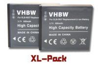 erstaunliche vhbw 2x li ion akku set 600mah 37v fur kamera samsung digimax l830 nv4 pl10 nv33 l730 cl5 i8 st10 wie samsung slb 0937 bild