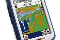 fantastische xplova outdoor navigation g5 weissblau bild
