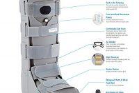 grossen physioroom air shield walker support bandage frakturen abnehmbare front xl bild
