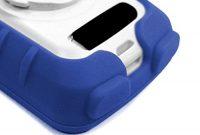 wunderbare tuff luv 3 in 1 bundeln silikon schutzhulle case schirm schutz lenkerhalterung halterung out front fur garmin edge 820 blau foto