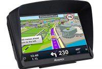 am besten aonerex navigationsgerat 7 zoll gps navi navigation resistivem display navigationssystem mehrsprachig fur auto lkw pkw kfz 8gb256mb lebenslange kartenupdates 52 karten fur europa uk bild
