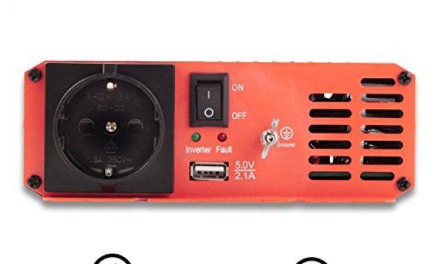 awesome ective 300w 12v auf 230v si serie reiner sinus wechselrichter in 7 varianten 300w 3000w foto