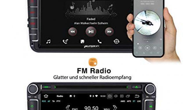 erstaunlich pumpkin android 90 autoradio fur vw radio mit navi 4gb 8 core unterstutzt bluetooth dab cd dvd wifi 4g android auto usb microsd 8 zoll bildschrim 2 din bild