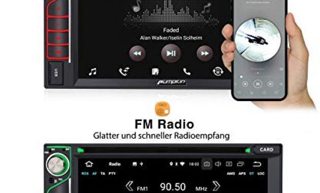 erstaunliche pumpkin android 90 autoradio radio mit navi und dvd player 4gb 8 core unterstutzt bluetooth dab usb cd dvd android auto wifi 4g microsd 2 din 62 zoll bildschirm universal foto