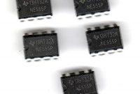 fabelhafte foxnovo 50pcs ne555p sehr stabile 555 timer module zur erzeugung von genaue zeit verzogerungen oszillation schwarz foto