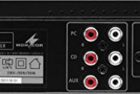 fabelhafte monacor sa 50 kompakter universal stereo verstarker schwarz foto