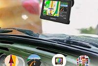 grossen awesafe gps navi navigation fur auto lkw pkw kfz 5 zoll touchscreen sprachfuhrung lebenslang kostenloses kartenupdate mit navigationsgerat halterung foto