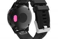 schone hunpta wristband port protector resistant und anti staub stecker fur garmin fenix 5 5x 5s rosa bild