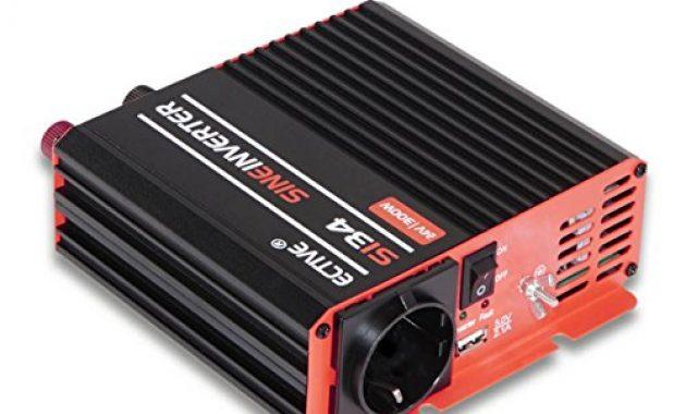 wunderbare ective 300w 12v auf 230v si serie reiner sinus wechselrichter in 7 varianten 300w 3000w foto