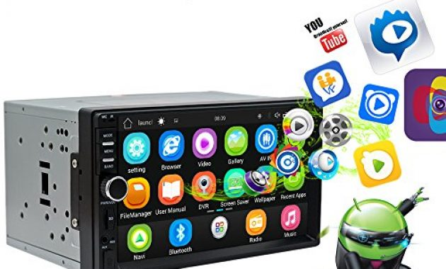 wunderbare ezonetronics android autoradio stereo 7 zoll kapazitiver touchscreen high definition 1024x600 gps navigation bluetooth usb sd player 1g ddr3 16g nand speicher flash 0011 bild