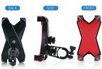 wunderbare fahrrad montieren telefon halter sotical veamor anti shake standi bisiklet motosiklet araba 360 derece donebilen universal cradle clamp icin akilli telefon kirmizi bild