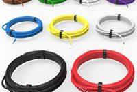 am besten auprotec fahrzeugleitung 250 mm2 set 9 farben a 10m flry b als ring foto