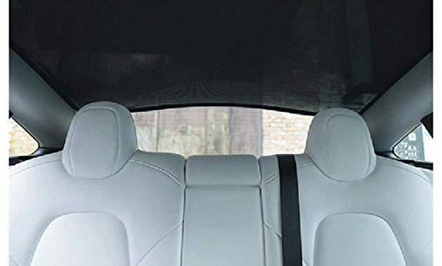 am besten lesgos autofenster sonnenschirme car sunroof uv rays protection window shade fur tesla model 3 front sunshade rear sunshade foto