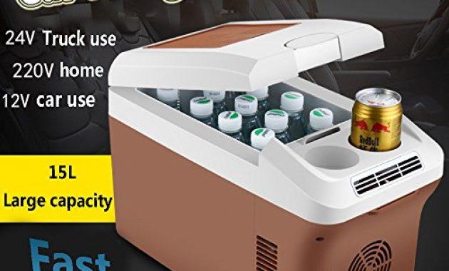 am besten menudown auto kuhlschrank portable mini kuhlschrank 15l hohe kapazitat speicher isolierung tragbaren elektrische kuhlbox 12v 24v 220 230v kuhl heizfunktion autohaus12v 24v 230 bild