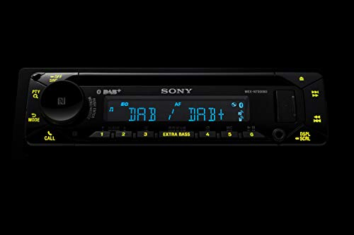 am besten sony mex n7300kit dab autoradio mit cd dual bluetooth usb und aux anschluss bluetooth freisprechen 4 x55 watt 3x preout extra bass vario color foto