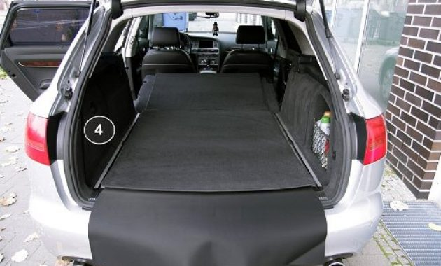 am besten tuning art 2803 kofferraummatte 3 teilig ruckbankschutz ladekantenschutz bild