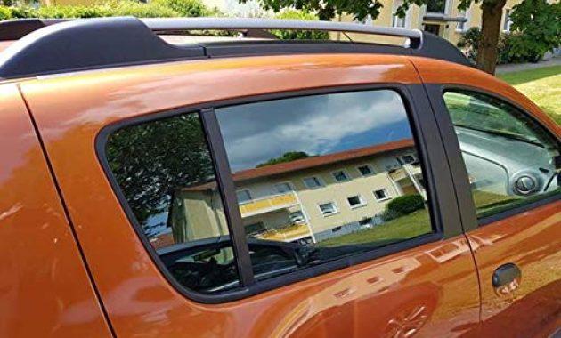 ausgefallene auto sonnenschutz fertige passgenaue scheiben tonung sonnenblenden keine folien vorsatzscheiben dacia sandero stepway ab 13 bild