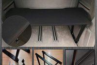 ausgefallene bremer sitzbezuge vw t5 t6 multivan multiflexboard inkl matratze bettverlangerung unischwarz foto