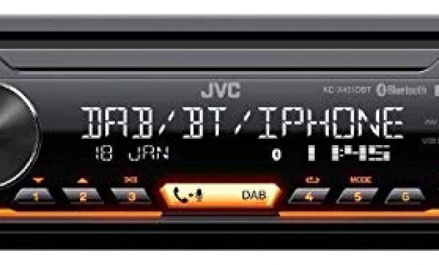 ausgefallene caraudio24 jvc kd x451dbt dab bluetooth mp3 usb autoradio fur seat mii ab 2011 foto