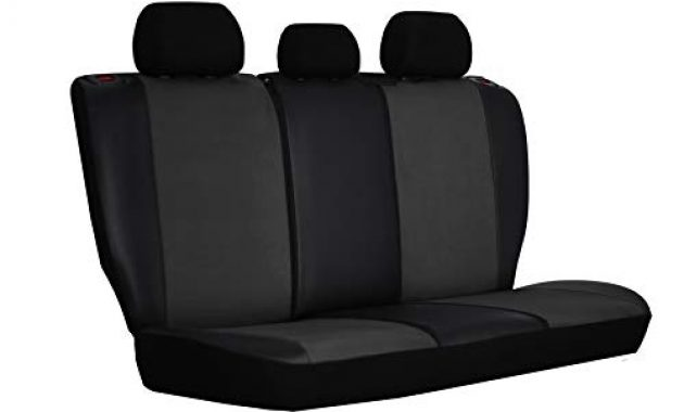 ausgefallene ejp unico premium autositzbezuge sitzbezuge schonbezuge set passend fur navara np300 d40 hier farbe grau foto