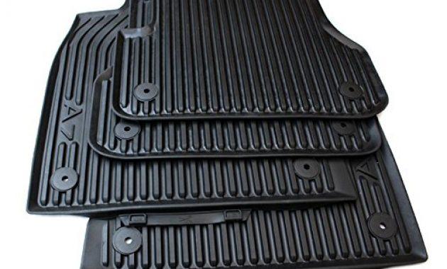 ausgefallene fussmatten audi a7 gummi gummifussmatten premium original vorn hinten schwarz bild