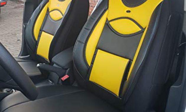 ausgefallene mass sitzbezuge kompatibel mit kia stonic fahrer beifahrer ab bj 2017 farbnummer d105 bild