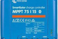 ausgefallene victron smartsolar mppt laderegler 7515 12v 24v 15a solarladeregler bluetooth integriert bild