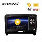 ausgefallene xtrons 7 auto touch screen autoradio mit android 80 octa core auto dvd player autostereo unterstutzt 3g 4g bluetooth 4gb ram 32gb rom dab obd2 tpms fur audi tt mk2 bild