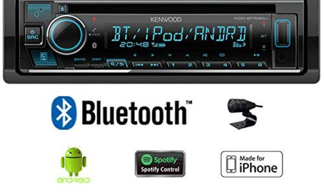 ausgezeichnete autoradio radio kenwood kdc bt530u bluetooth spotify iphone android cdmp3usb einbauzubehor einbauset fur audi a6 c4 just sound best choice for caraudio bild