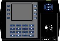 ausgezeichnete burk mobatime zws box rfid mit transponder zeiterfassungs komplettsystem foto